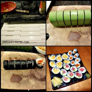 making sushi 2