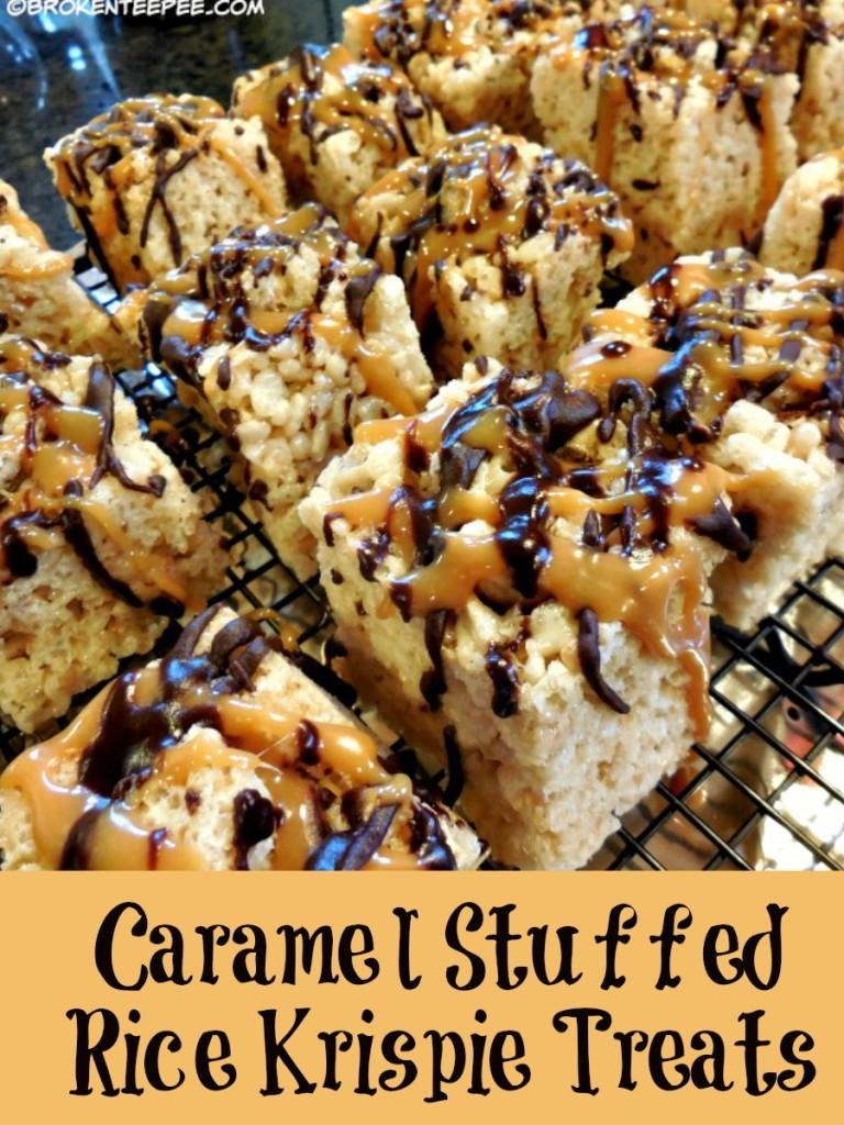 caramel-stuffed-rice-krispie-treats