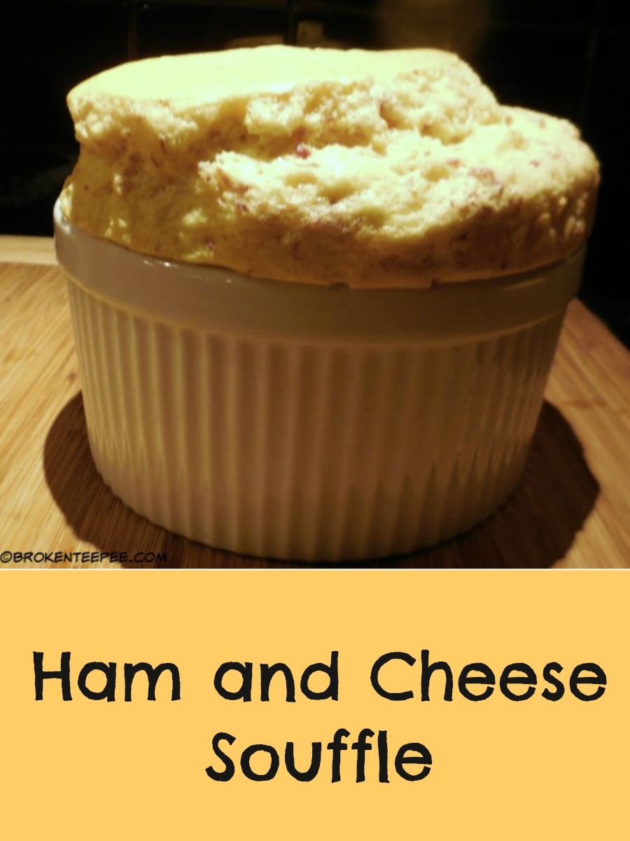 Ham and Cheese Souffle Recipe - A Leftovers Recipe
