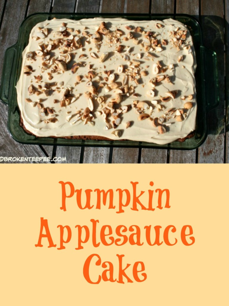 Pumpkin Applesauce Cake