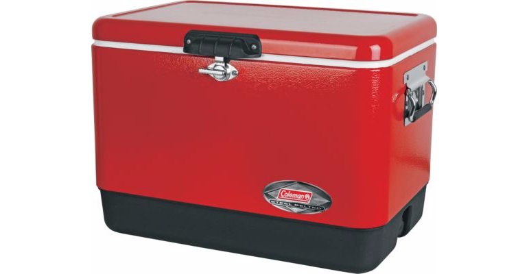 Coleman Steel Cooler,   Cabela's Father's Day Gift Guide, #sponsored