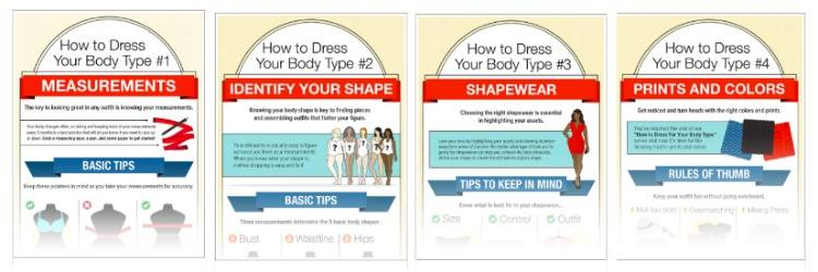 Monroe and Main, How to Dress for Your Body Type Infographic, #DressYourBodyType, #sponsored