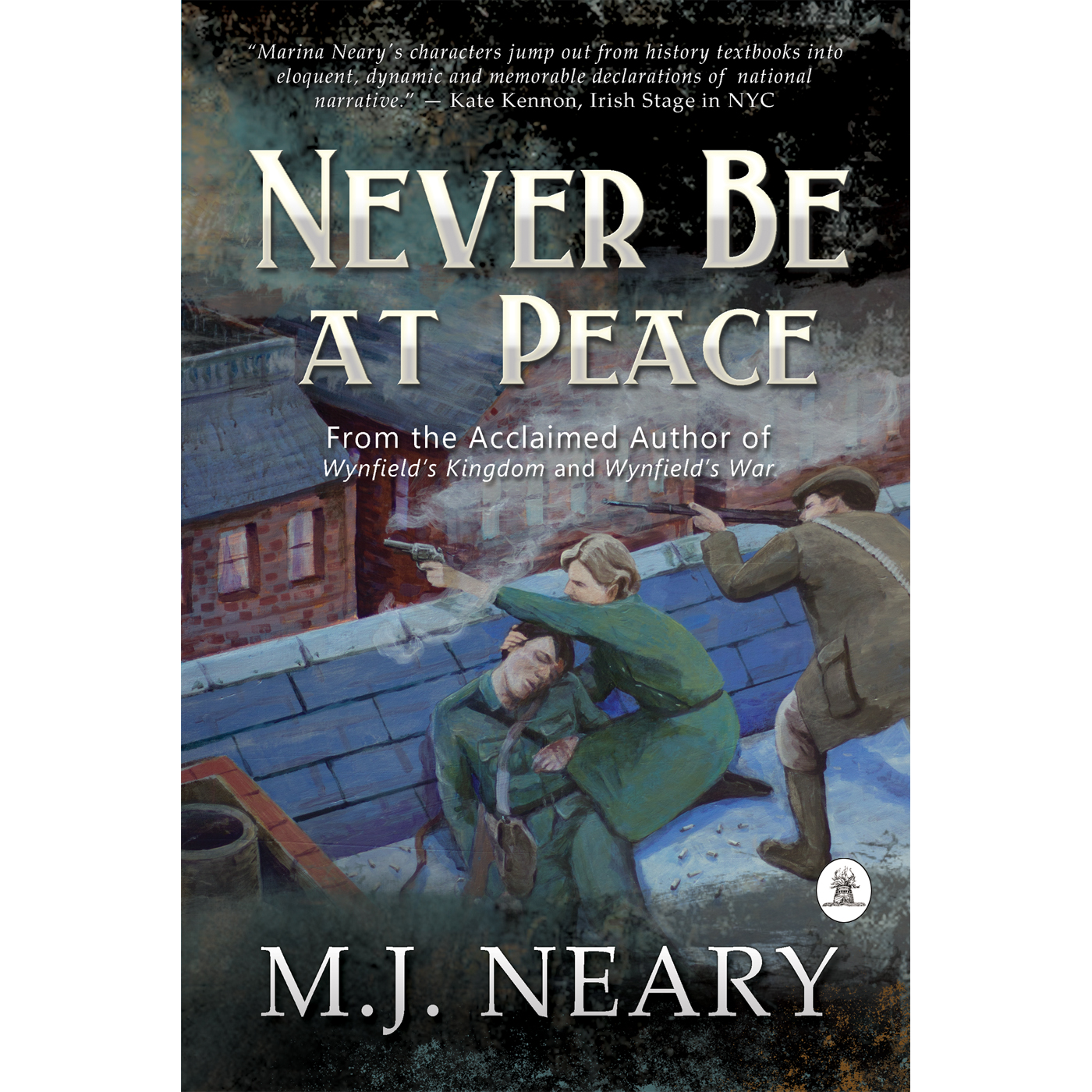 Guest Post – M. J. Neary Author of Never Be At Peace