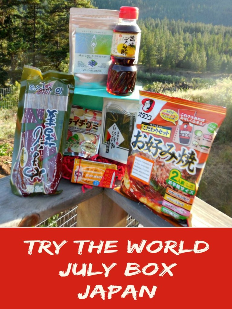 Try the World, Land of the Rising Sun, Japan, subscription box, sponsored