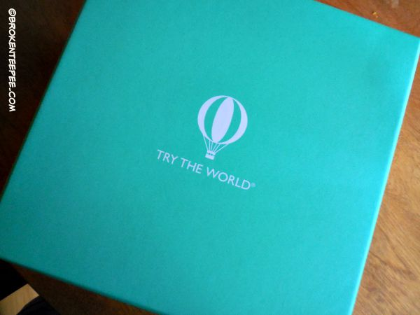 Try the World, subscription box, culinary delights, sponsored