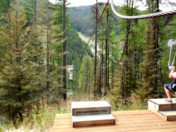 Zip lining, Montana, Montana Snowbowl