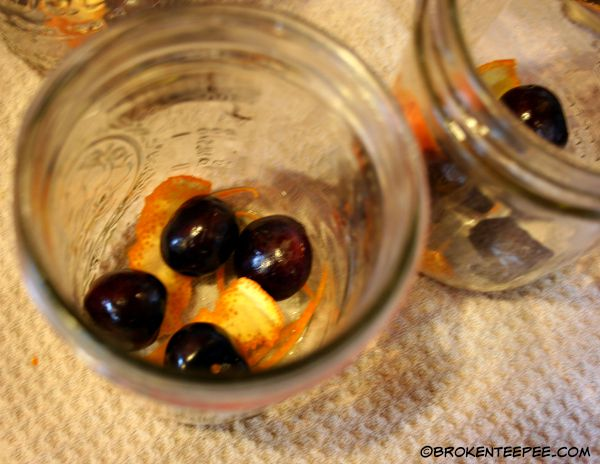 cherries and oranges to flavor pickled beets