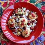 scallops with cherries