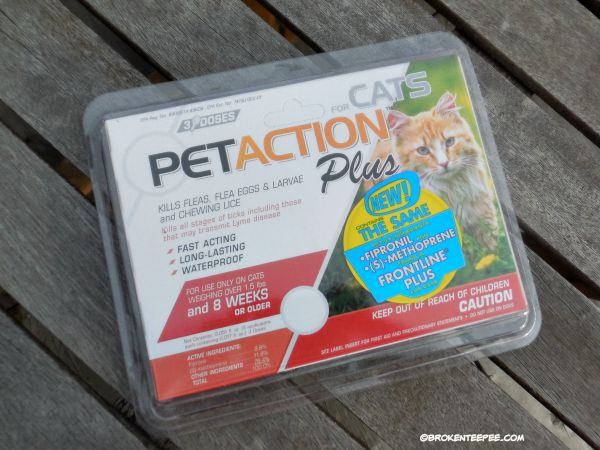True Science, PetAction Plus Flea and Tick Protection, #sponsored