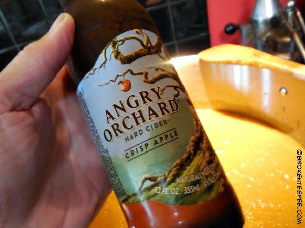 add hard cider/beer, carrot soup