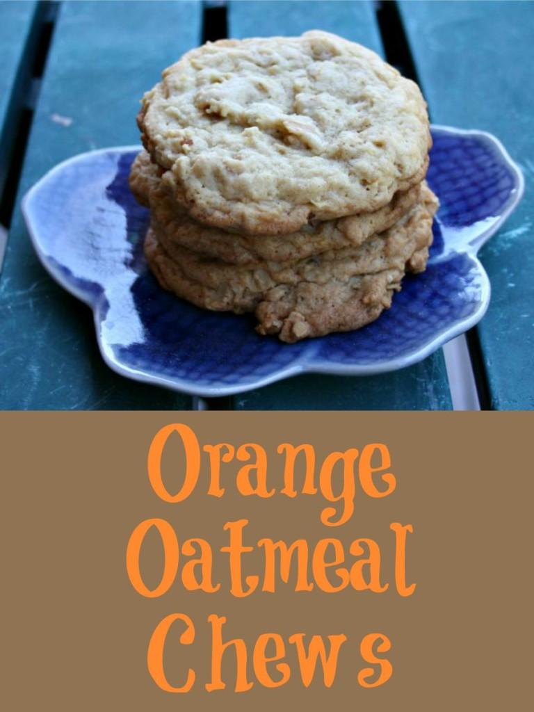 Orange Oatmeal Chews, Get Your Bake On, Brian Emmett