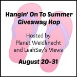 Hangin' On to Summer Giveaway Hop
