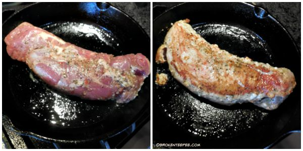 cooking pork loin, Smithfield Marinated Pork. Garlic and Herb Pork Loin, #weavemade, #GetBackToPork, #DeliciousInMintues, #Ad