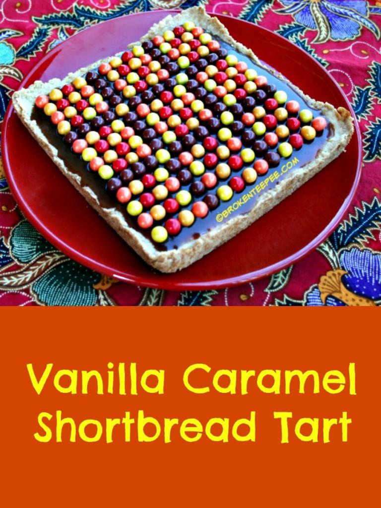 SweetWorks, Vanilla Caramel Shortbread Tart, #SweetWorksAutumn, #sponsored