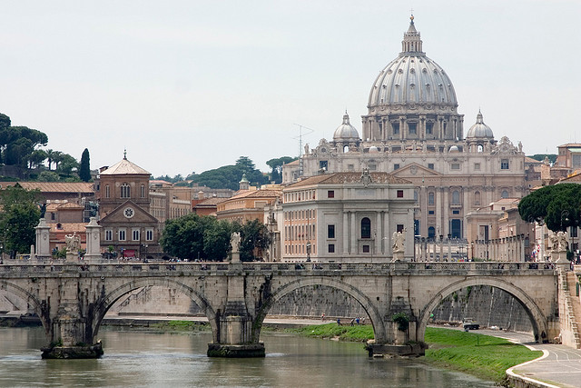 St. Peter's Basilica, Rome, Italy Flickr creative commons