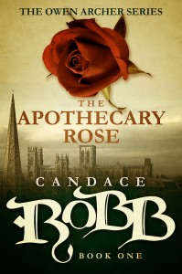 The Apothecary Rose by Candace Robb – Blog Tour and Book Review with Giveaway