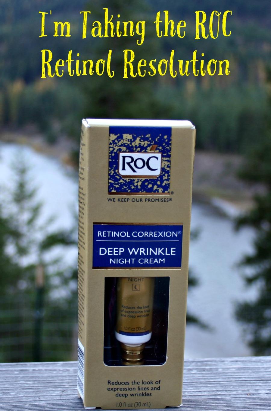 I'm Taking the RoC Retinol Resolution