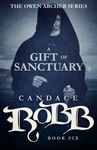 A Gift of Sanctuary (Owen Archer 6) by Candace Robb – Blog Tour, Book Review