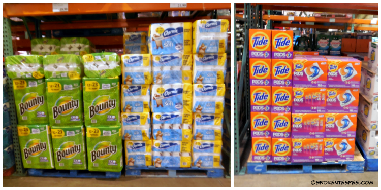 Proctor and Gamble at Costco, Don't get caught without, Costco, #HostingHacks, #CollectiveBias, #ad