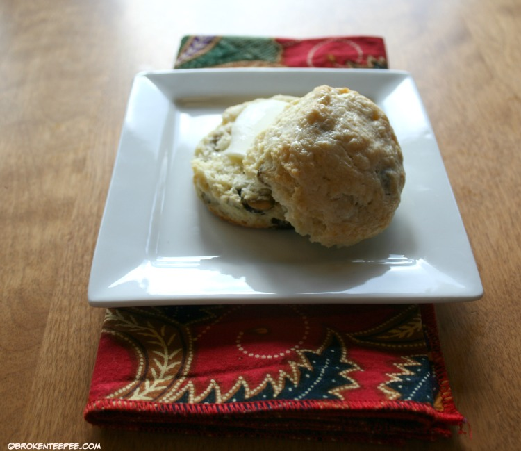 biscuit with butter, Making Dough, Russell van Kraayenburg, Quirk Books, #MakingDough
