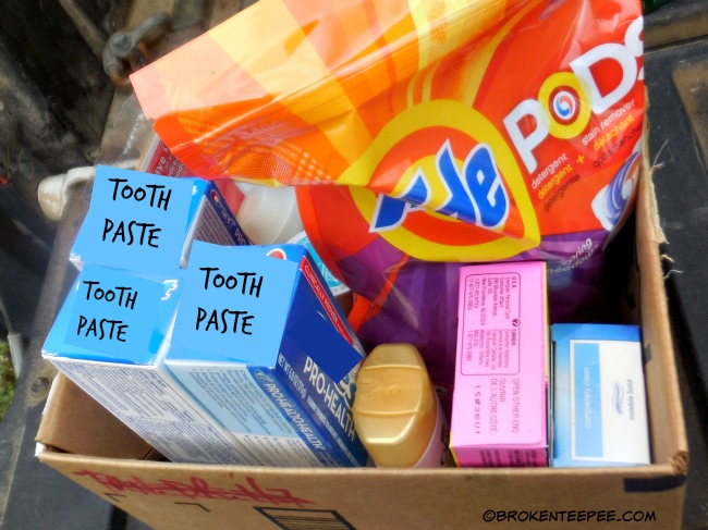 donation to food bank, Don't get caught without, Costco, #HostingHacks, #CollectiveBias, #ad