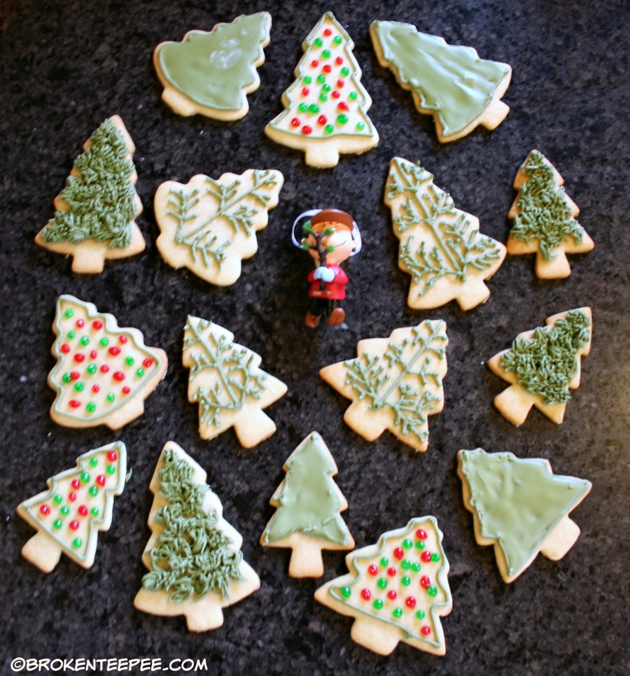 decorated classic sugar cookies