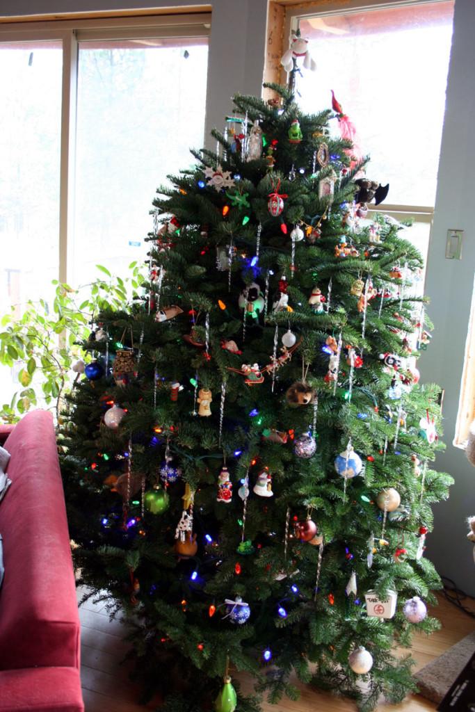 My Christmas tree, Hallmark Ornaments at Walmart, Hallmark Ornaments, #SendHallmark, #CollectiveBias, #sponsored