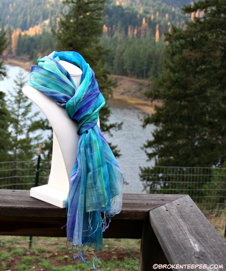 World Vision for Holiday Gift Giving – Royal Silk Scarf Review and Giveaway