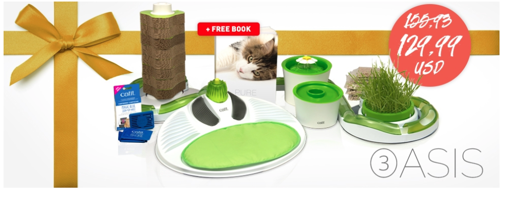 Catit, Catit Oasis, The Farm cats, #sponsored