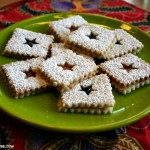 Holiday cookies, Linzer tarts