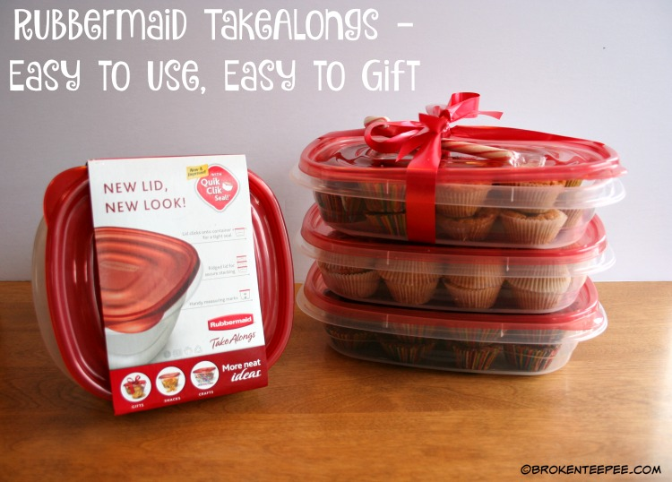 Rubbermaid TakeAlongs, Walmart, Share the Holiday, Giving the Gift of Thanks, #ShareTheHoliday, #CollectiveBias, #AD