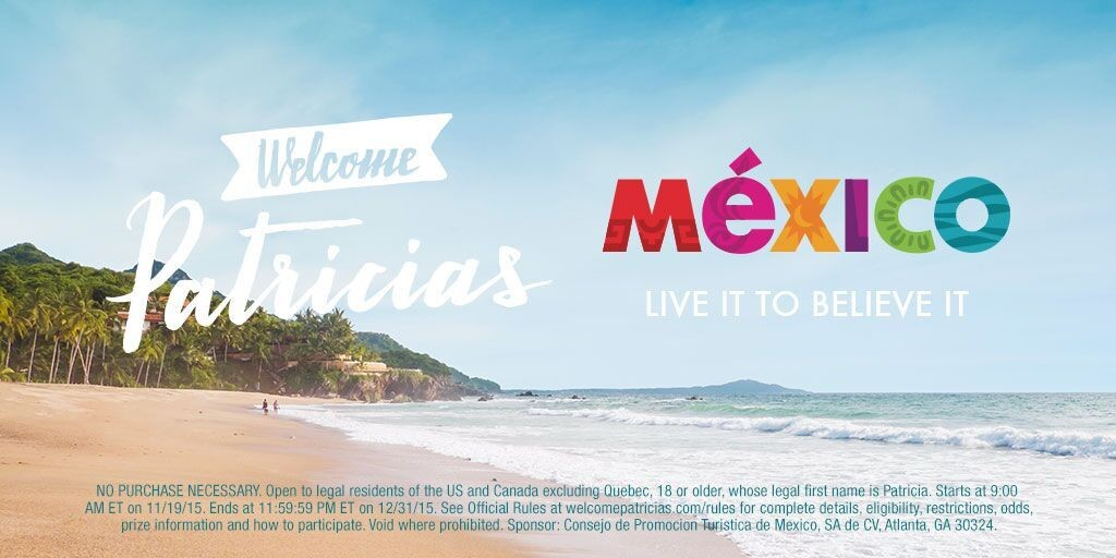 welcome Patricias Mexico, Visit Mexico, #sweepstakes, #ad