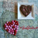 American Greetings®, M&M's® Strawberry, DOVE®, M&M's® Strawberry Brownie Cookie Hearts, #SendSweetness, #ad