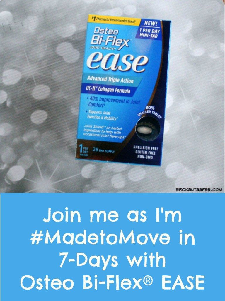 Osteo Bi-Flex® EASE, supports joint mobility and comfort, #MadetoMove, #ad