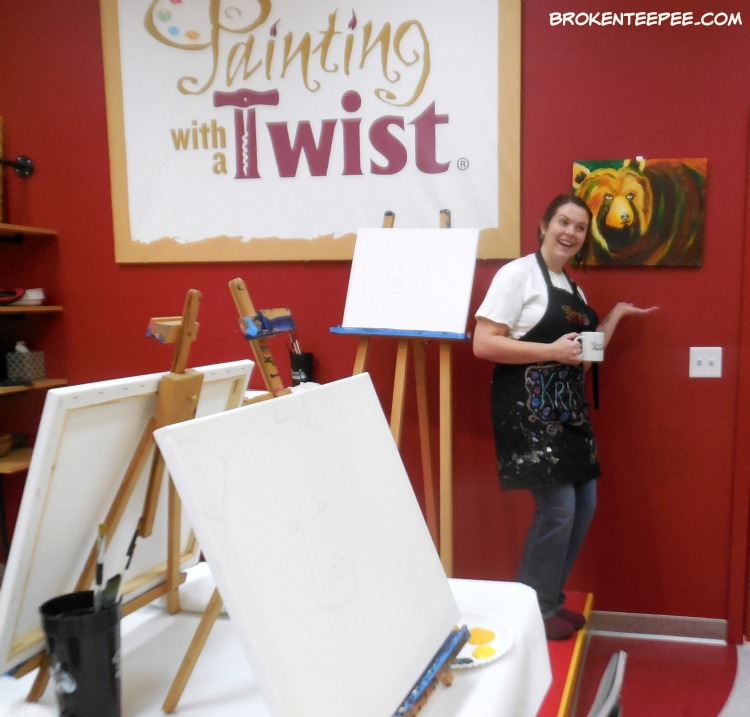 fun things in Missoula Montana, Painting with a Twist, Bear with Me