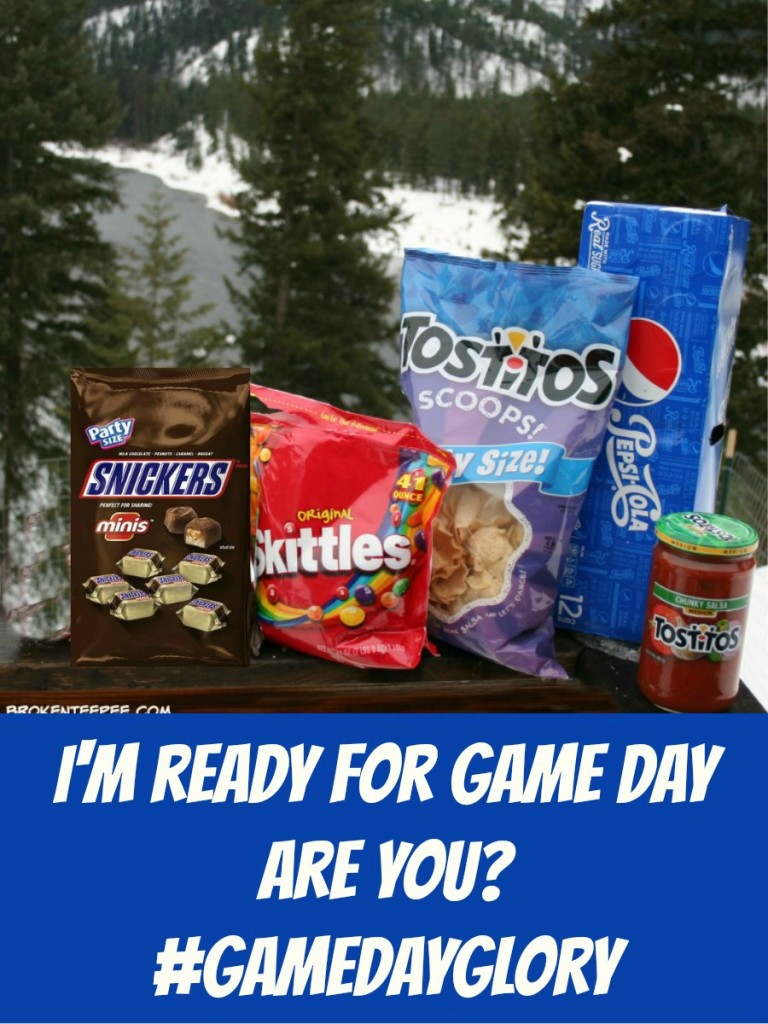 Game Day snacks, TOSTITOS®, SNICKERS®, Skittles®, Pepsi™, recipes, SNICKERS® Apple Turnovers, Game Day Dip, #GameDayGlory, #CollectiveBias, #ad