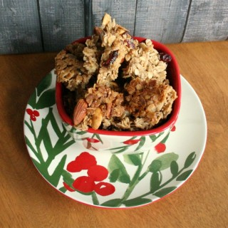 Maple Honey Granola, homemade granola recipe, homemade granola