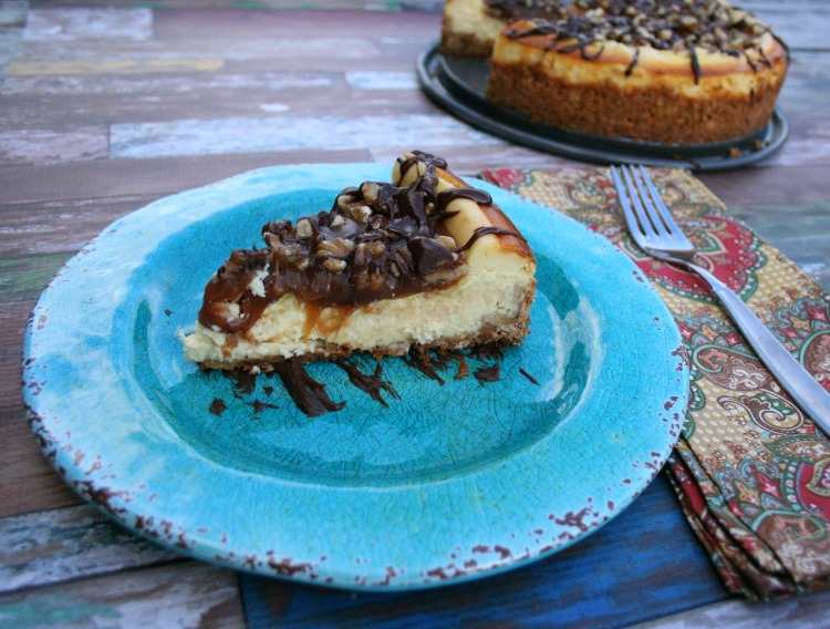 cheesecake recipe, Turtle Cheesecake