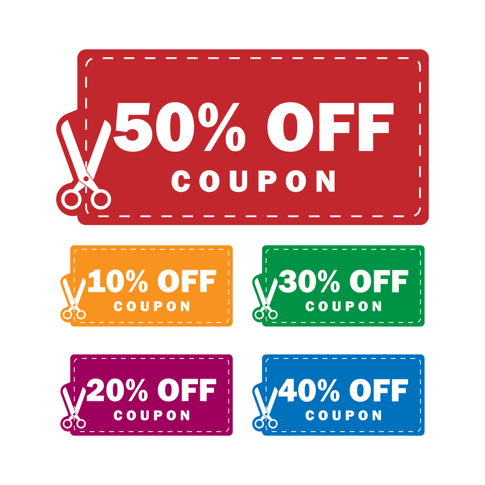 Discount coupons on groupon
