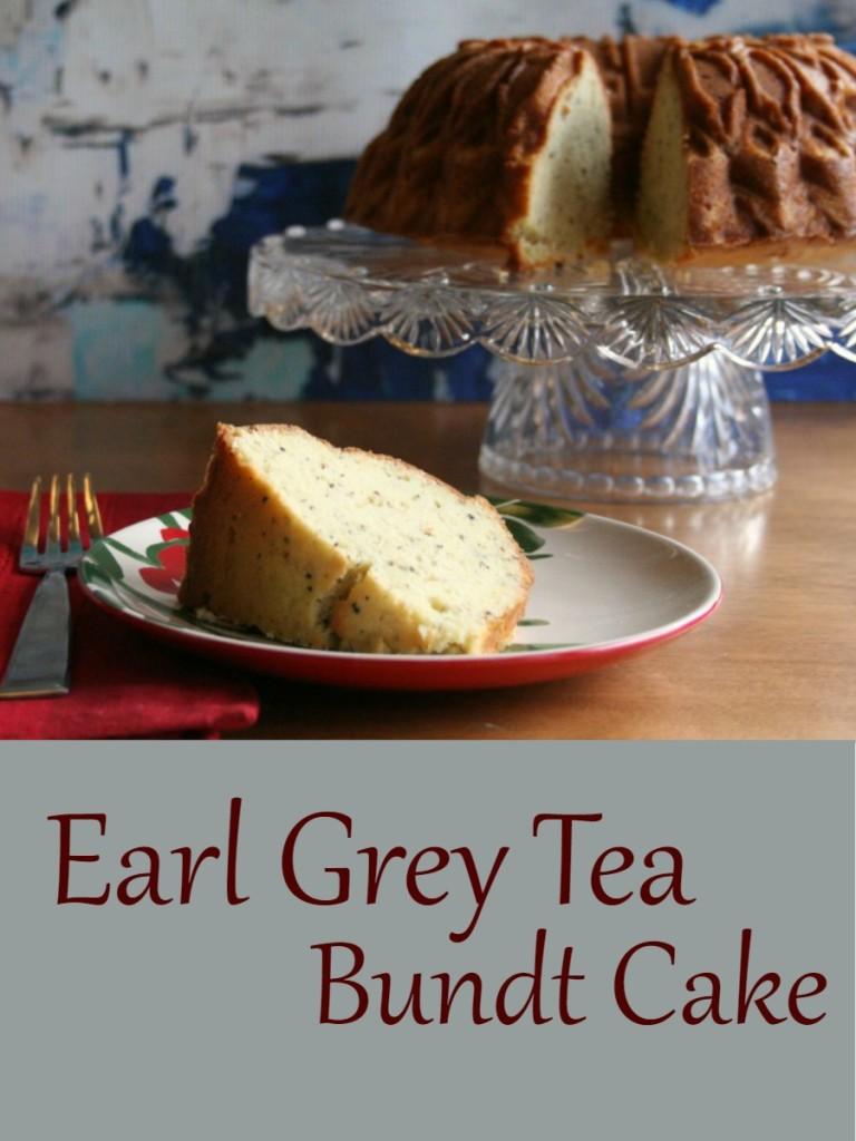 Earl Grey Tea Bundt Cake, bundt cake recipe