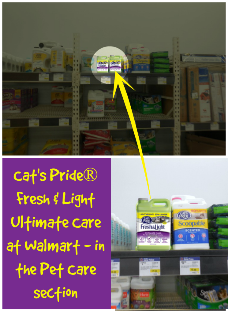 Cat's Pride Fresh & Light Ultimate Care Cat Litter, Cat's Pride at Walmart, #UltimateLitter, #Ad