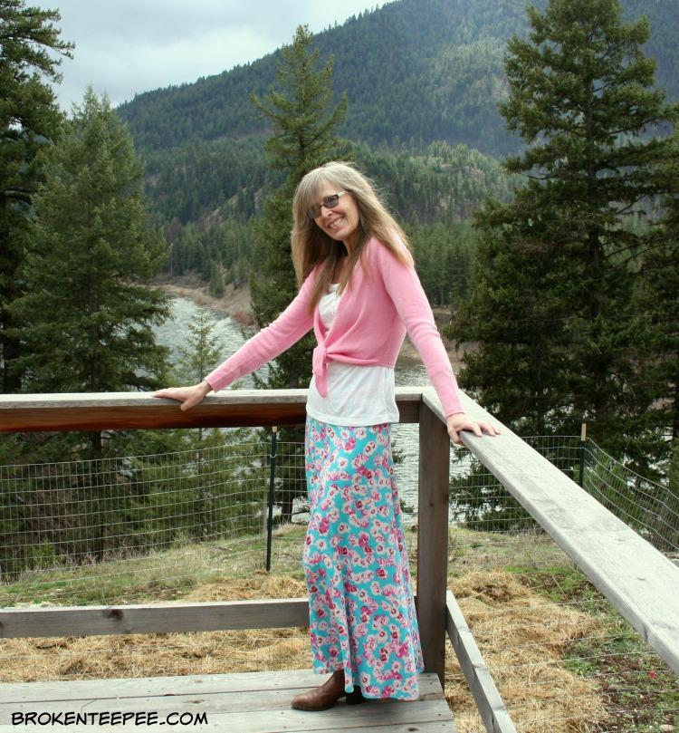Spring Outfit, LuLaRoe, new dishwasher