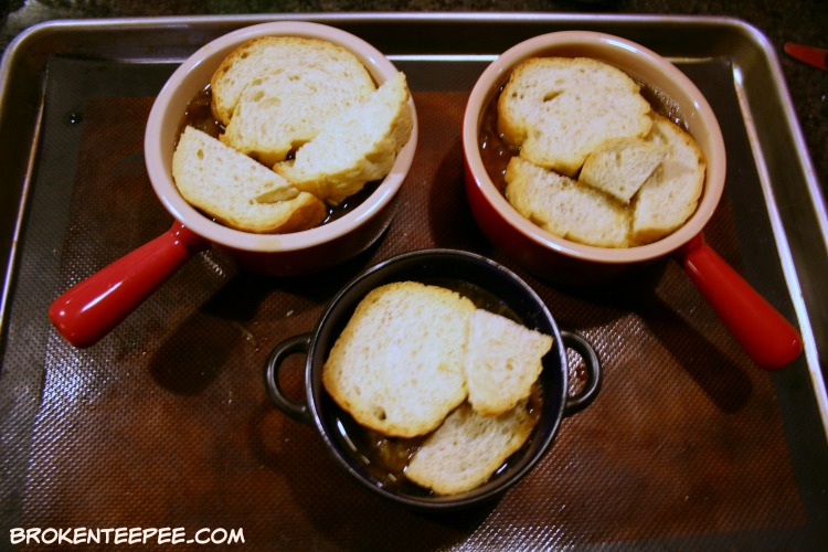 Onion Soup with Cheesy Meatballs, Jarlsberg Cheese, #ad