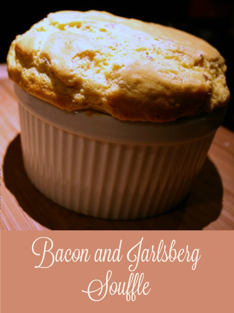 Jarlsberg Cheese, Bacon and Jarlsberg Souffle Recipe, #ad