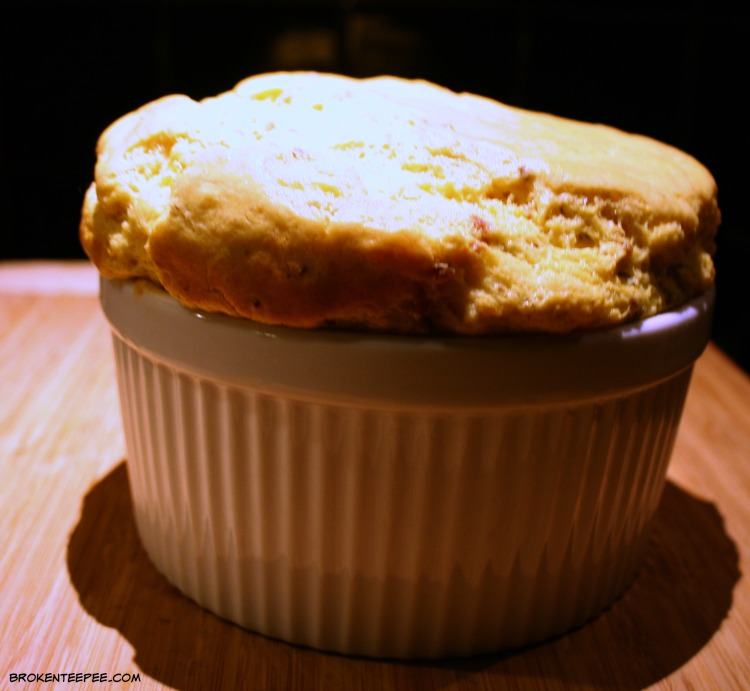 Jarlsberg Cheese, Bacon and Jarlsberg Souffle Recipe, #ad