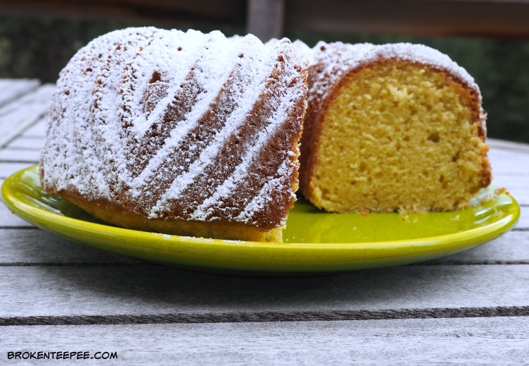 Vanilla Bundt Cake, bundt cake recipe