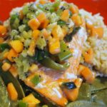 Citrus Salmon en Papillote with Tropical Fruit Salsa