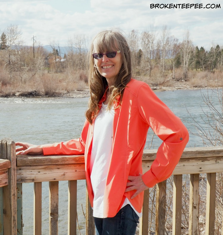 Comfortable Spring Style from Orvis, Florence Travel Blouse,Breezy Hemp/Cotton Tee, #SpringintoOrvis, #IC, #AD