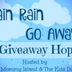 Rain Rain Go Away Hop – Win a Box of Books and Pricilla's Rich Soap