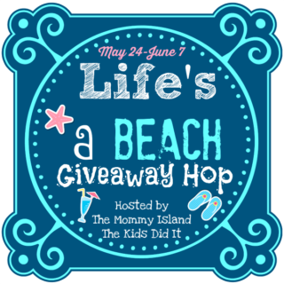 Life's a Beach Giveaway Hop, win a box of Books and Happy Goat Soap